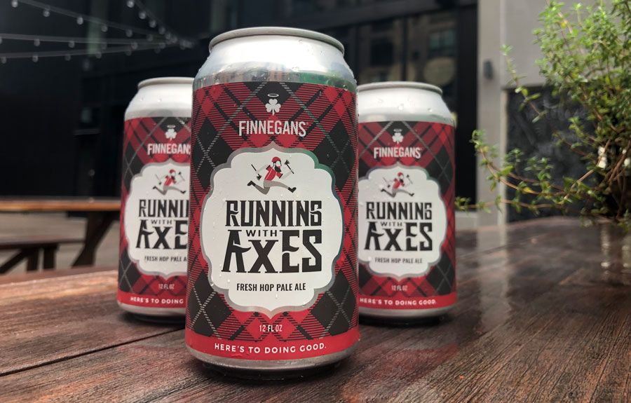 Finnegans Running with Axes