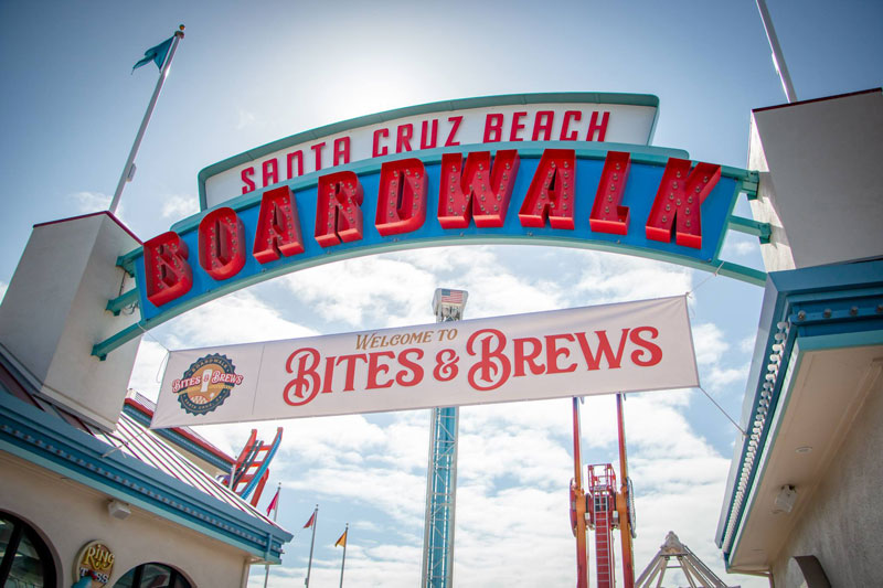 Boardwalk Bites & Brews in Santa Cruz, California