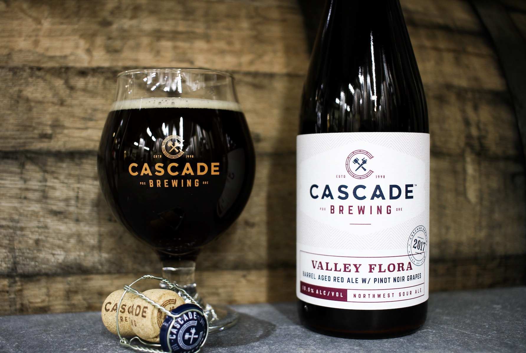 086137a1b73f Cascade Brewing Announces Release of Valley Flora in 500ml Bottles and Draft