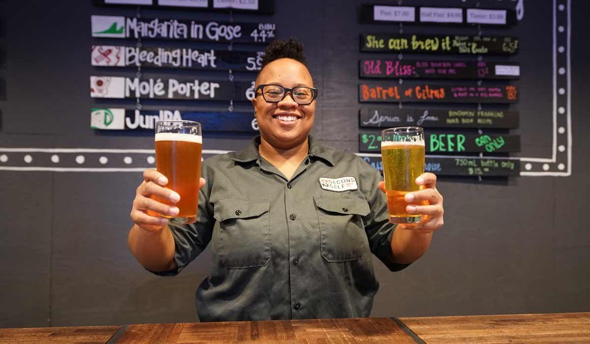 Zuri Coleman, Brewer at Second Self Brewing Co.