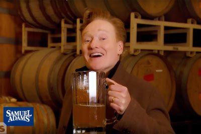conan sam adams brewery