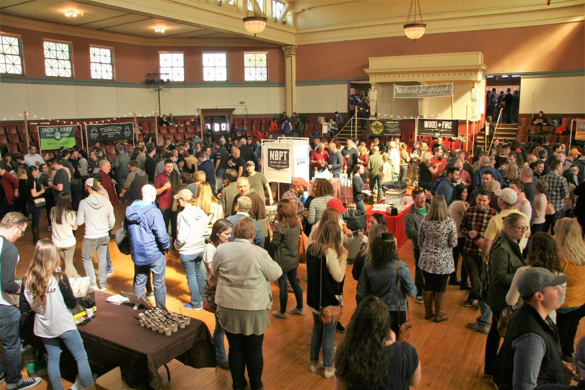 BEER + BITES Returns to Memorial Hall on April 6th