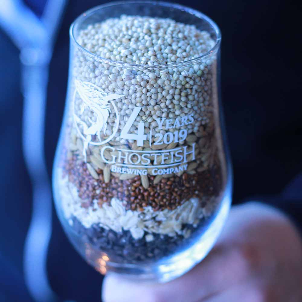 Ghostfish's alternative brewing grains