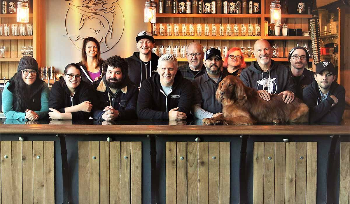 Ghostfish Brewing team