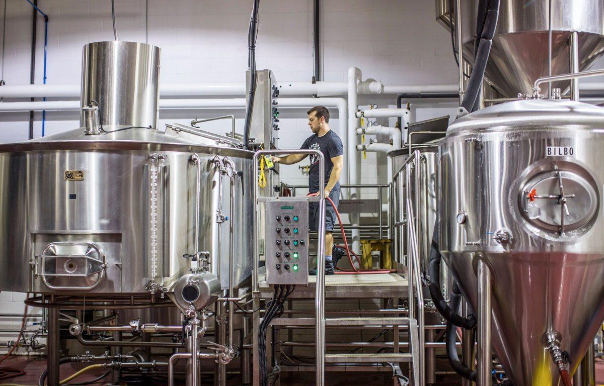 Brewing german style beers at KC Bier Co