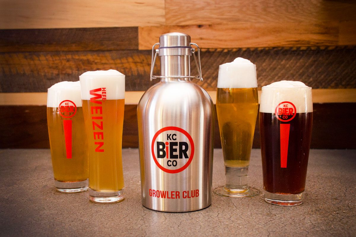 the year round lineup from KC Bier Co