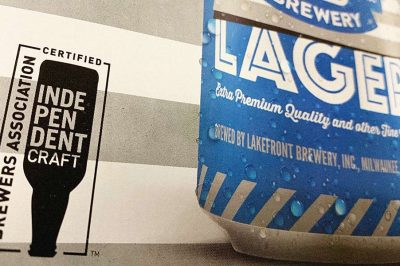 independent craft beer seal packaging lakefront