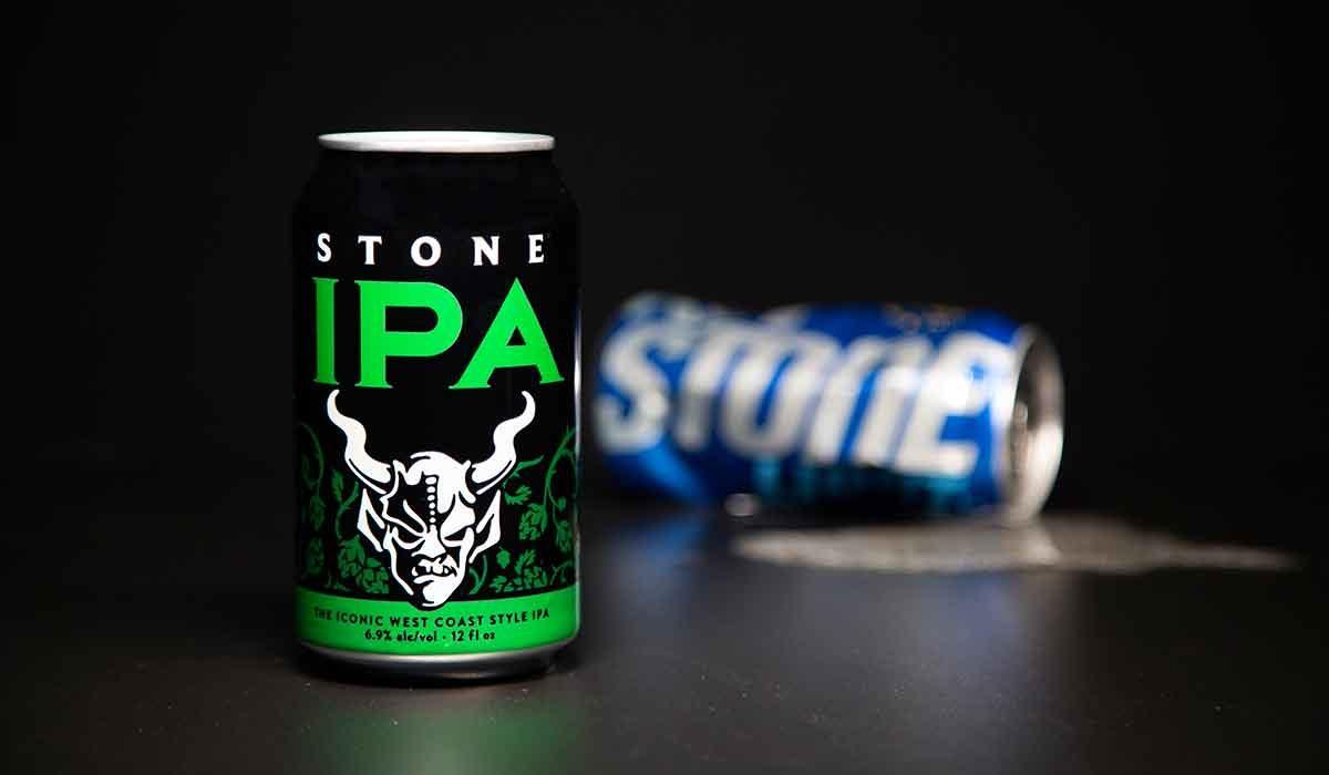 stone ipa keystone can