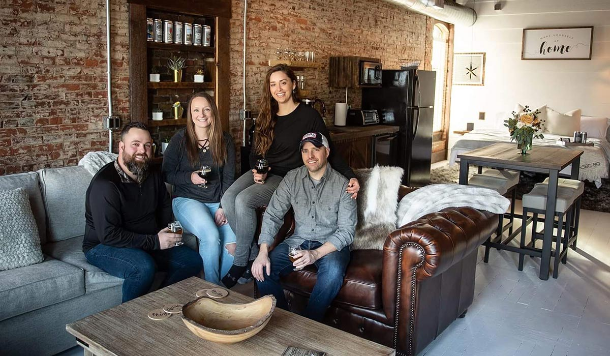 ohio brewery airbnb