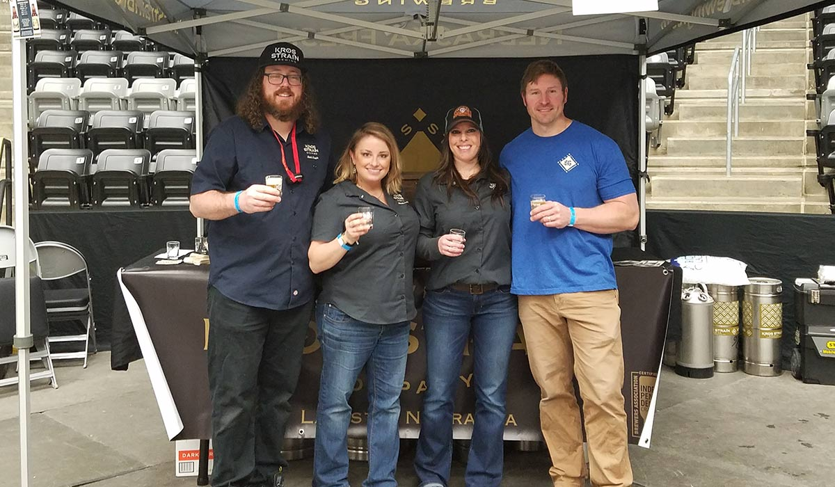 kros strain brewing founders