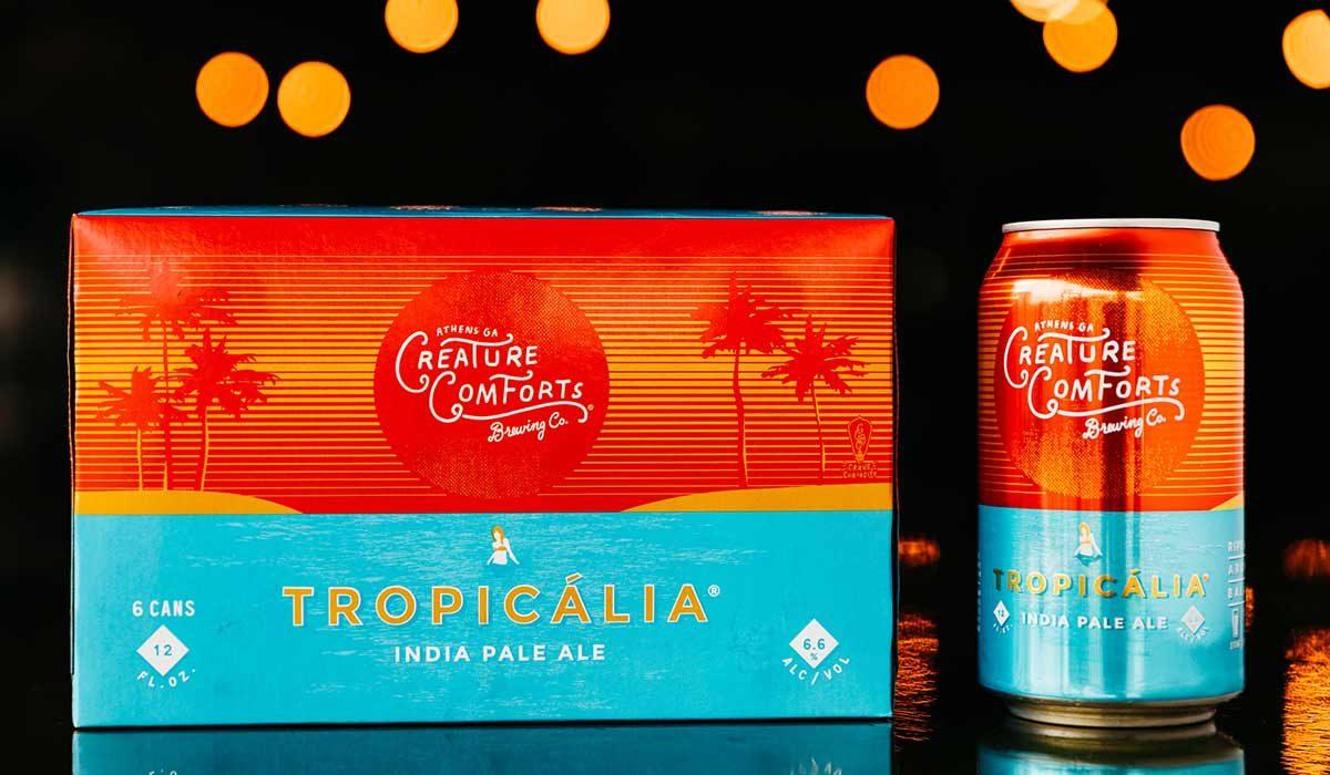 tropicalia beer creature comforts