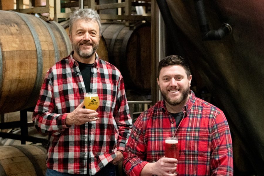 common roots brewing father son duo