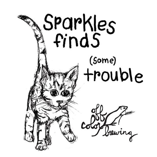 Sparkles Finds Some Trouble