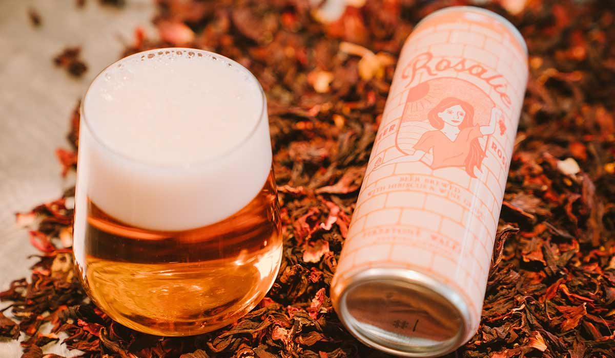rosalie rosé beer firestone walker