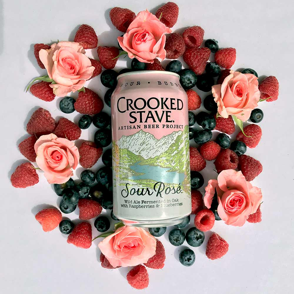 crooked stave sour rose beer