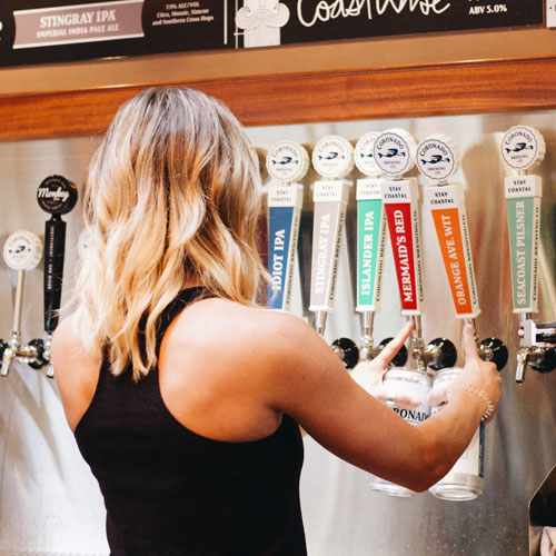 Coronado Brewing Co. beach brewery