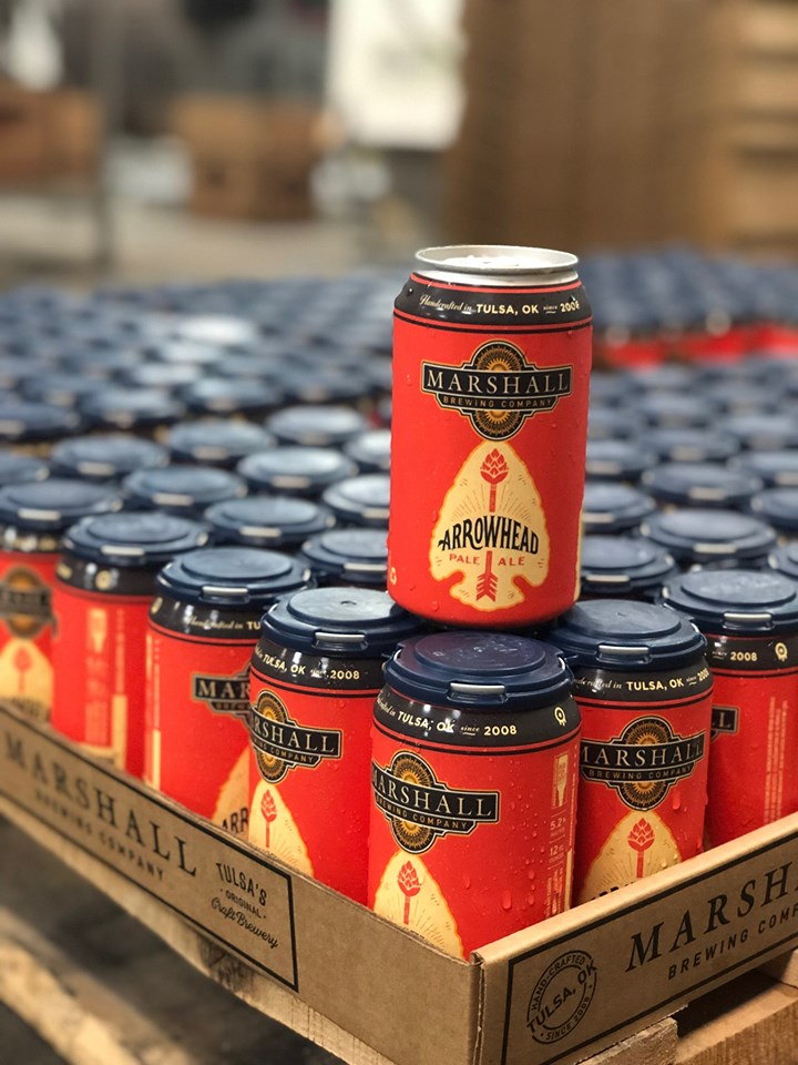 Marshall's Arrowhead Pale Ale available for Memorial Day Weekend