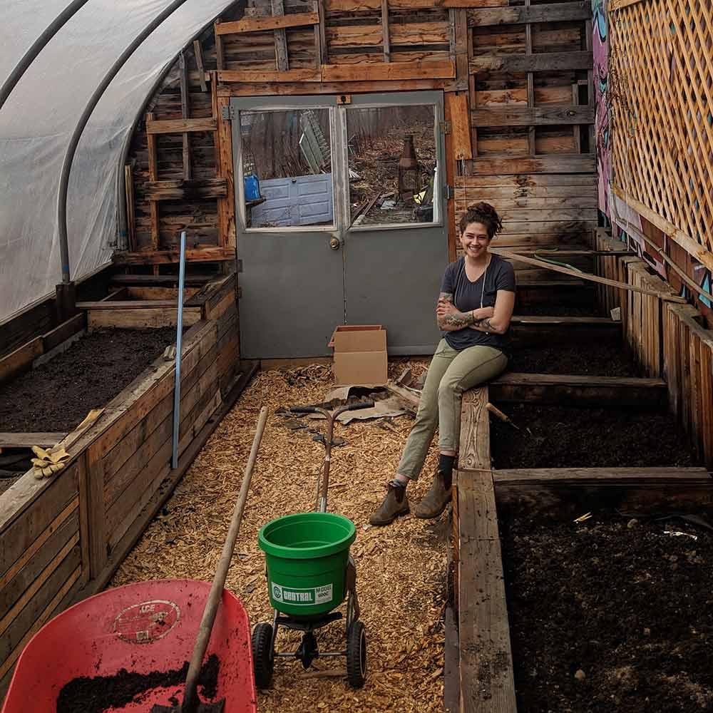 urban farm fermentory greenhouse