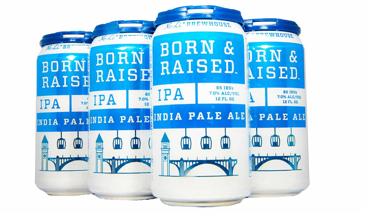 born and raised ipa no-li brewhouse