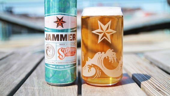 Sixpoint Brewing's Jammer Gose