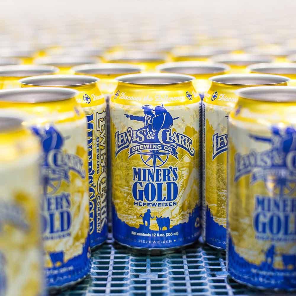miner's gold beer