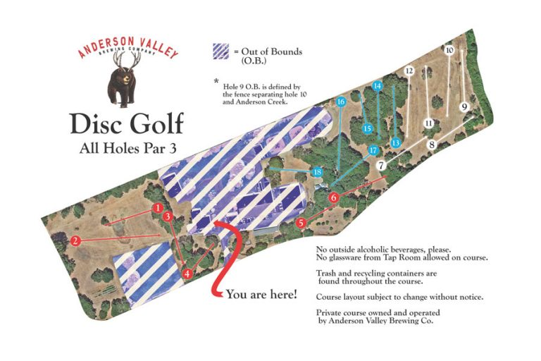 Anderson Valley Disc Golf
