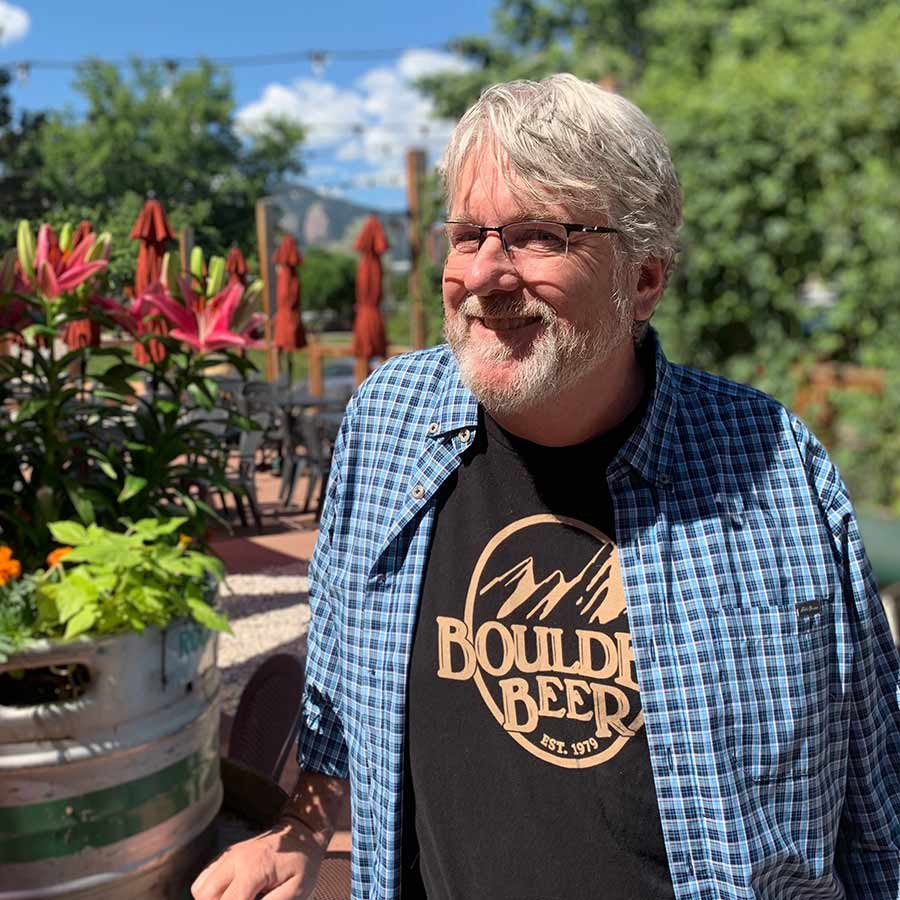 Dan Weitz is the sales director for Boulder Beer Co.