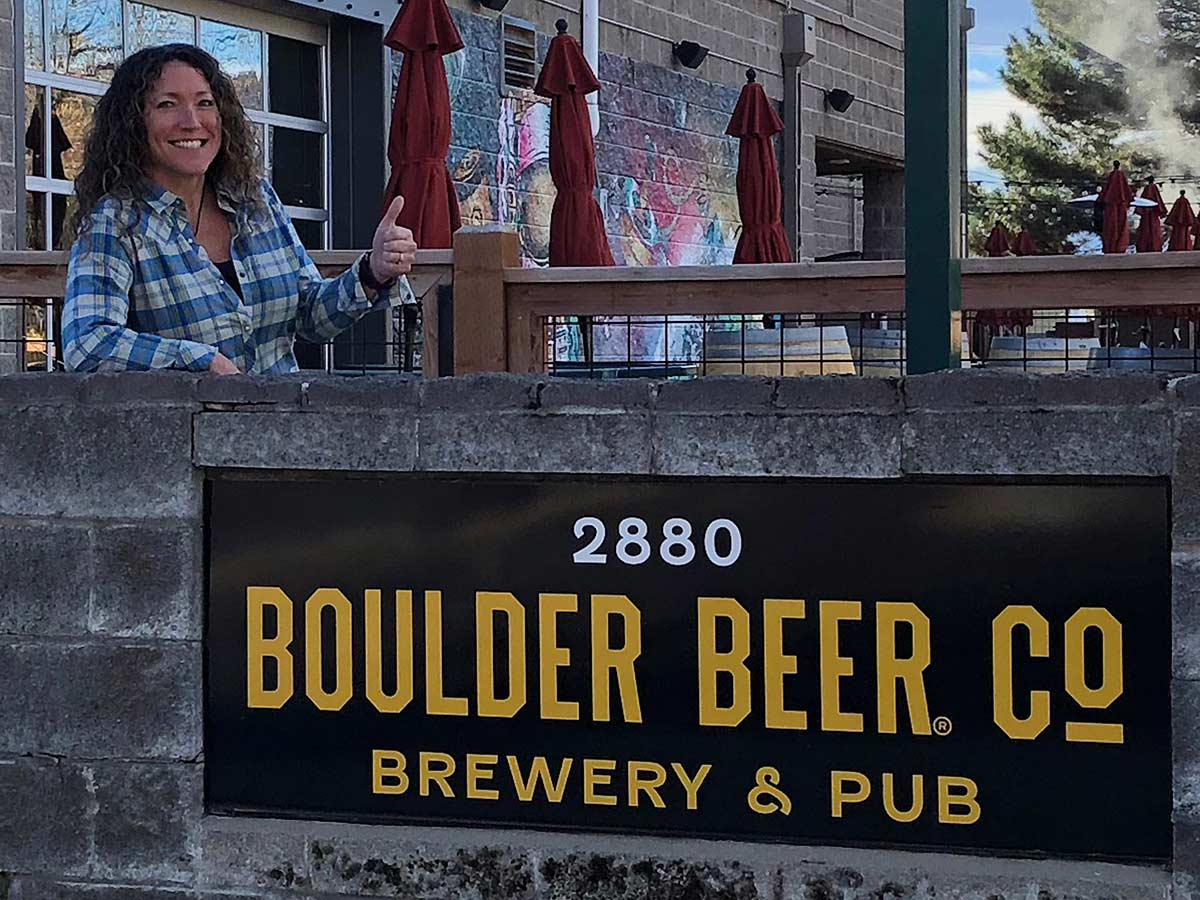 Tess McFadden boulder beer marketing director