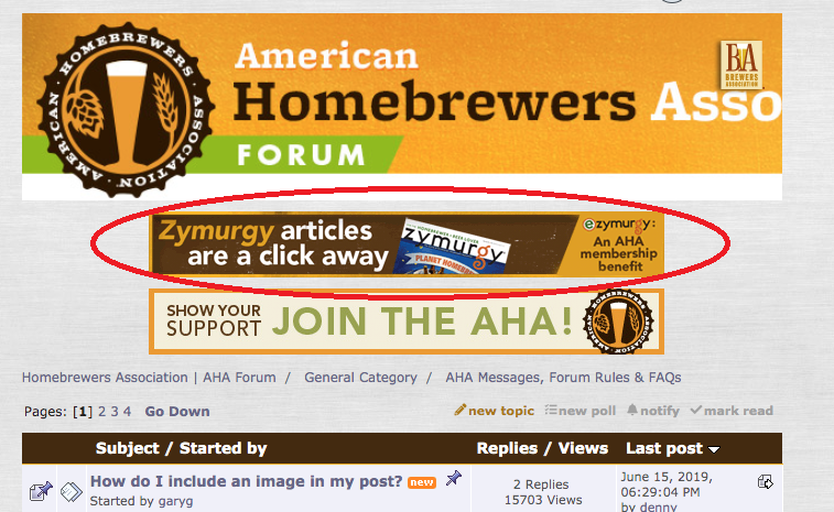 AHA Forum Sponsorship