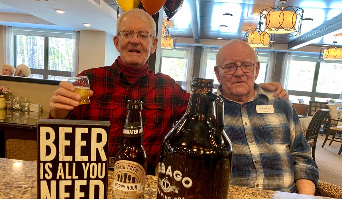 stroudwater senior living brew crew