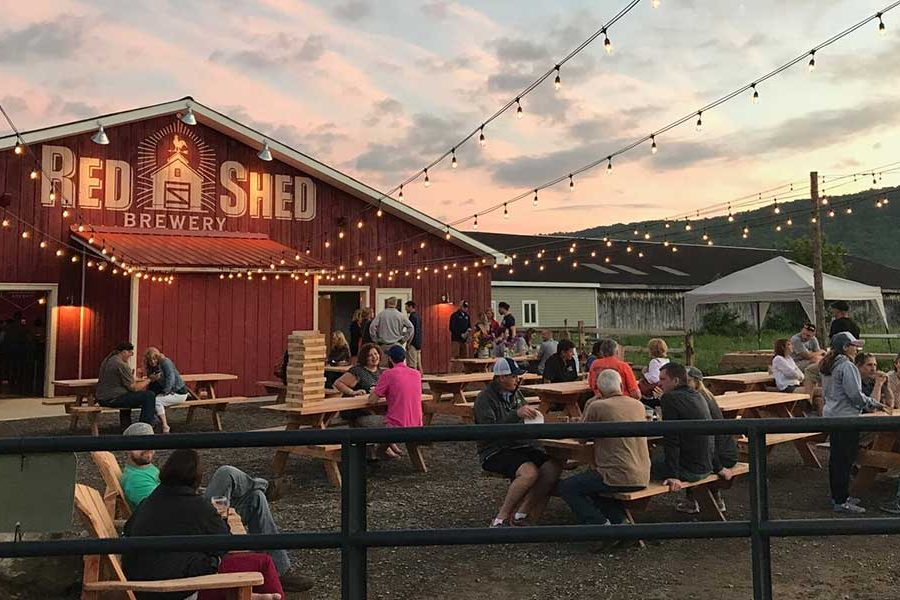 red shed brewing ny