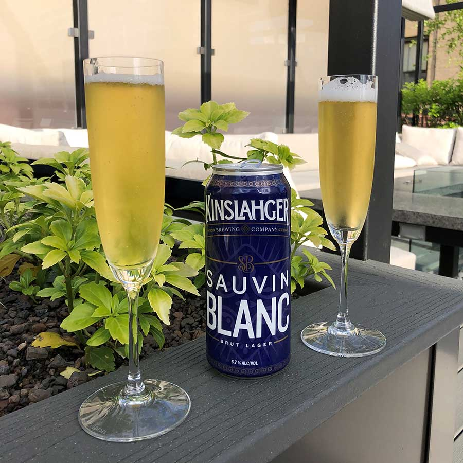 Kinslahger Brewing brut lager