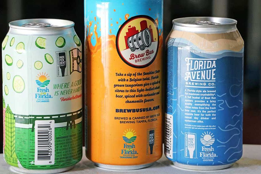 fresh from florida beers independent craft beer seal