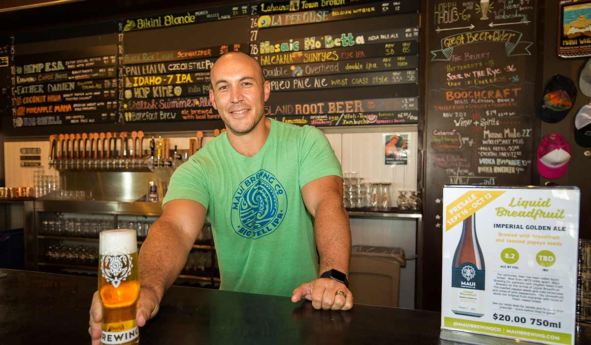 garrett marrero maui brewing co hawaii