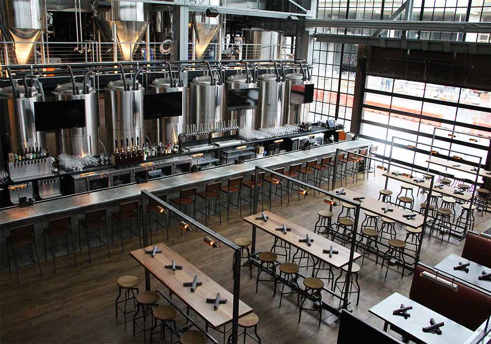 Bluejacket Brewing in D.C.