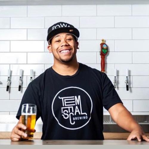 Joshua Diggs, Temescal's beertender