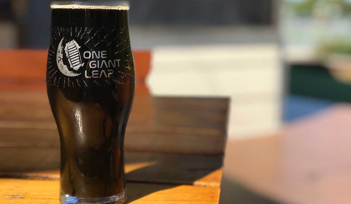 one giant leap beer space