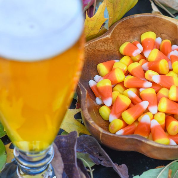 Candy Corn paired with Cream Ale