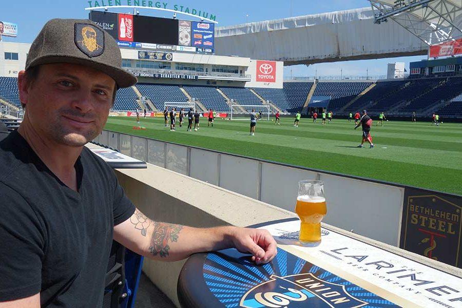 Matt Lindenmuth x games brewery