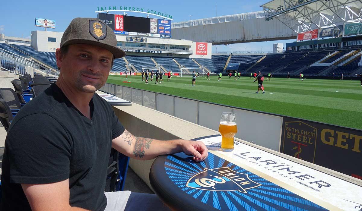 Matt Lindenmuth the larimer brewery