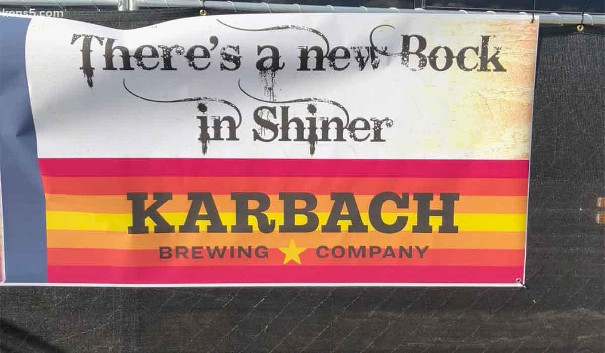 karbach brewing bock banner