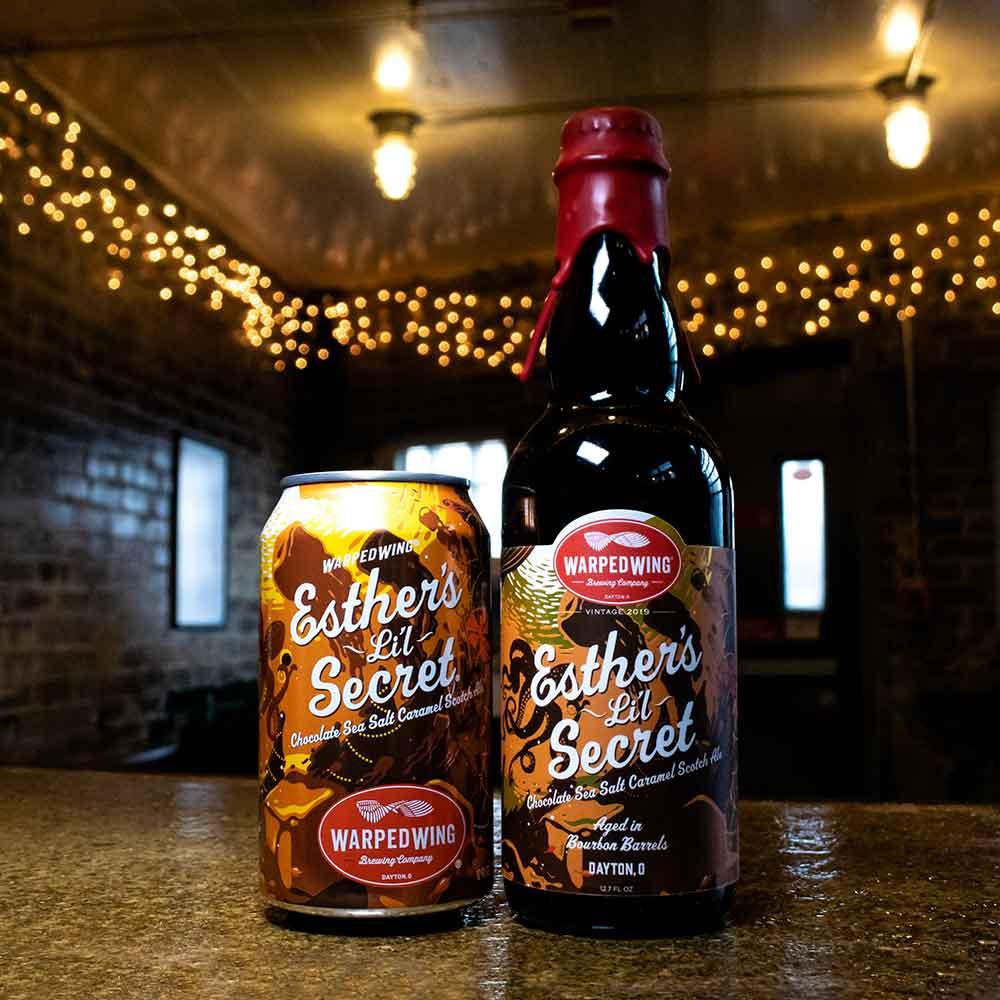 esther's lil secret beer