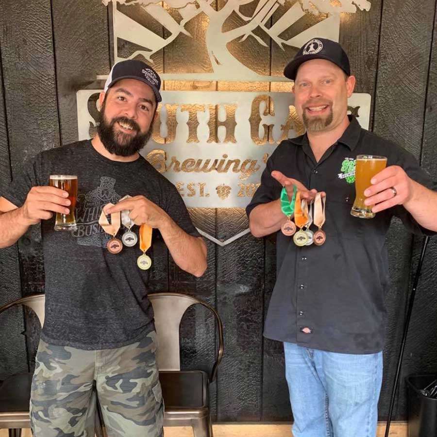 south gate brewing co medals