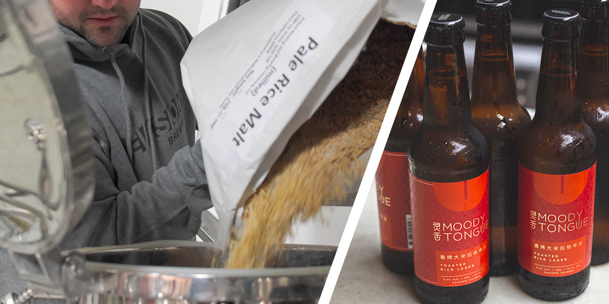 Brewing with Rice