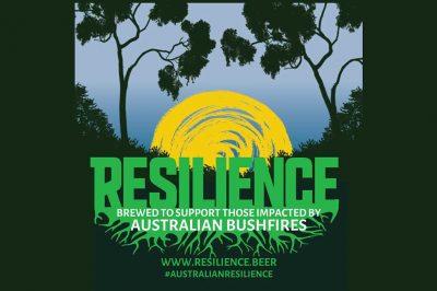 Australia resilience beer logo
