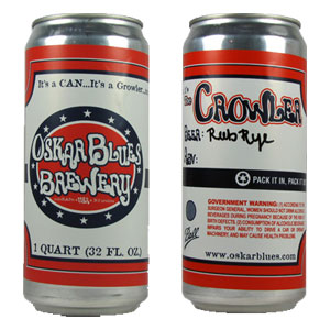 oskar blues brewery crowler
