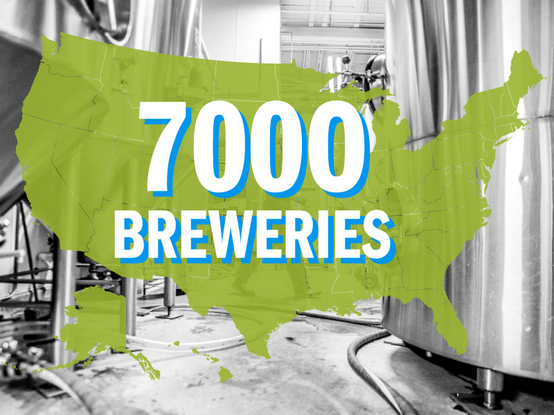 2018 7000 Breweries