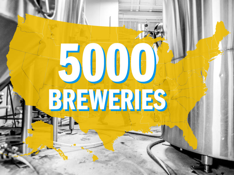 2016 5000 Breweries