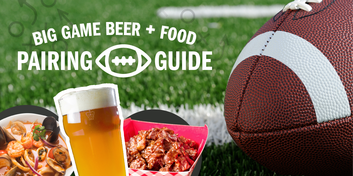 game day food pairing guide
