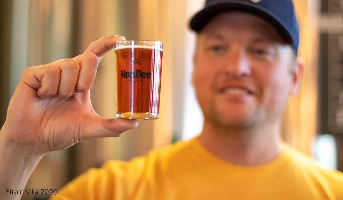 Bobby Wilken, founder of HooDoo Brewing